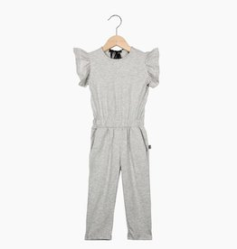 Ruffled Jumpsuit - Stone (NEW)