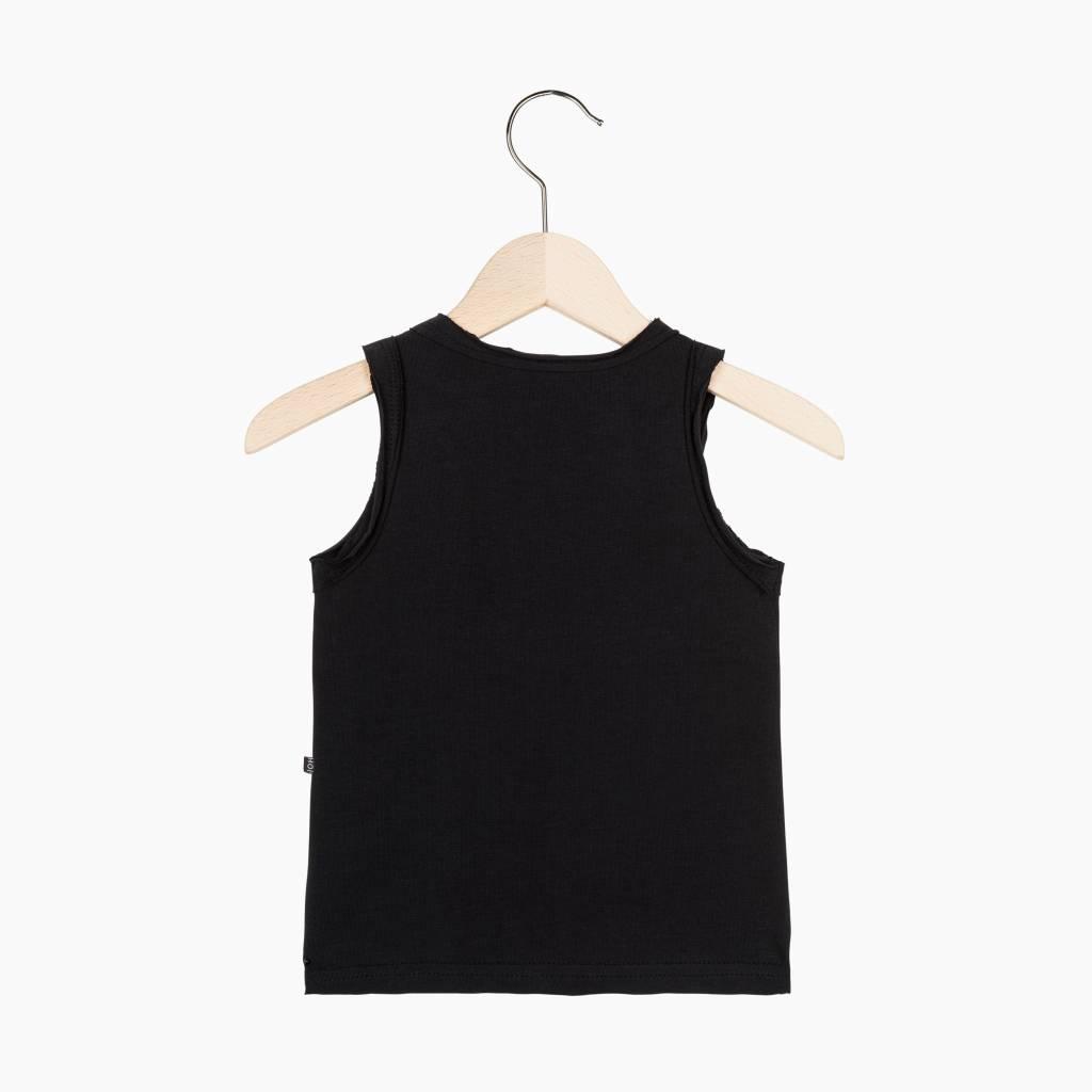 Tanktop - Black (striped pocket)