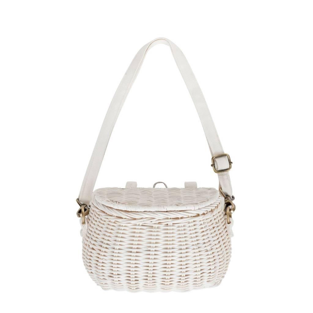 Mini Chari Bag - White