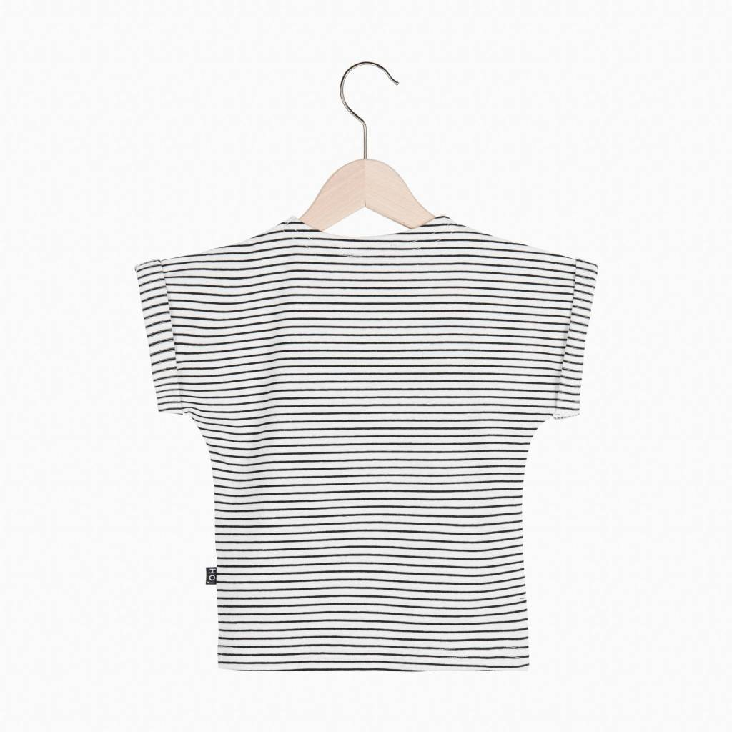 Batwing Tee - Little Stripes (NEW)