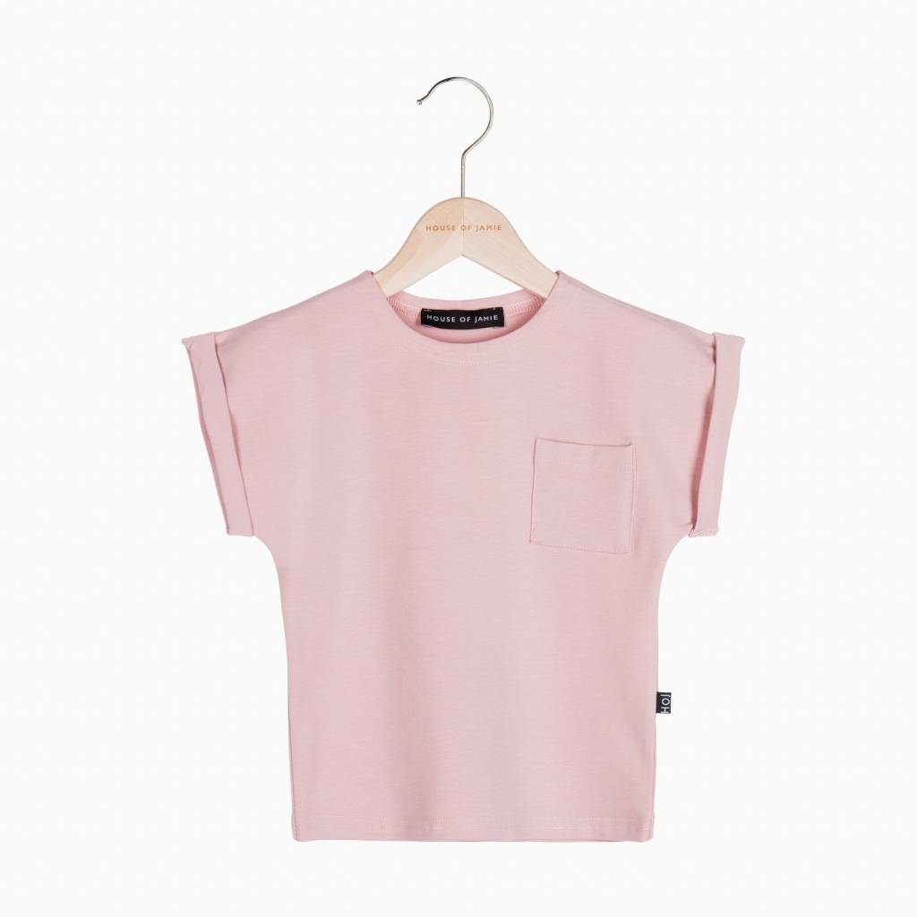 Batwing Tee - Powder Pink (NEW)
