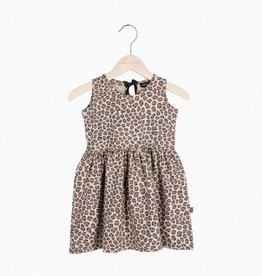 Oversized Summer Dress - Caramel Leopard (NEW)
