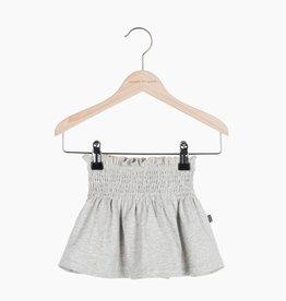 Smocked Skater Skirt - Stone (NEW)