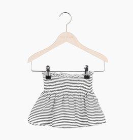 Smocked Skater Skirt - Little Stripes (NEW)