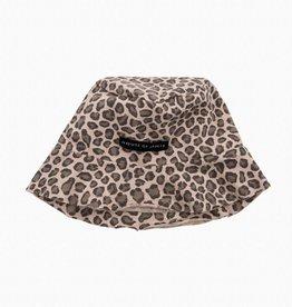 Summer Hat - Caramel Leopard (NEW)
