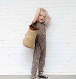 Laid back Jumpsuit - Caramel Leopard (NEW)