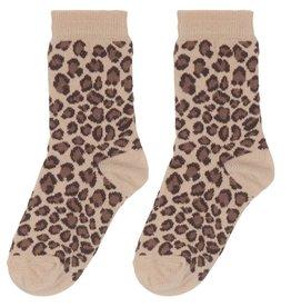 Sokken - Caramel Leopard (NEW)