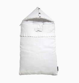 Travel Sleeping Bag - Snow White (linen)