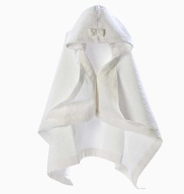 Hooded Baby Towel - Snow White