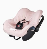 Car seat cover - Powder Pink + Stone