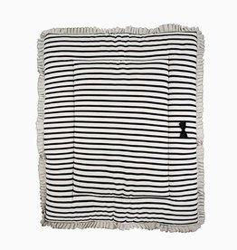 Playpen mat (reversible)  - Breton + Black & Stone