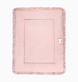 Boxkleed (omkeerbaar) - Powder Pink + Stone