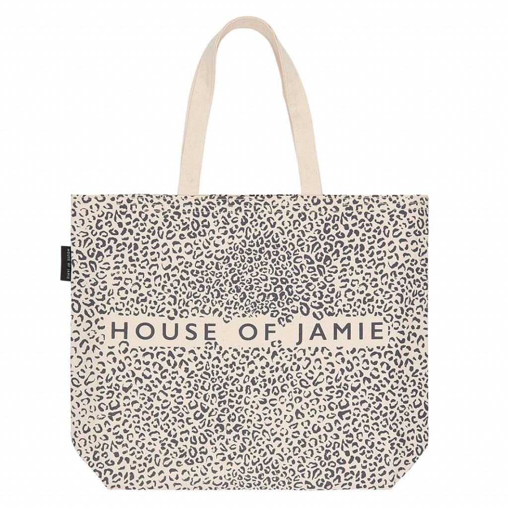 Medium Canvas Shopper - Leopard (NEW)