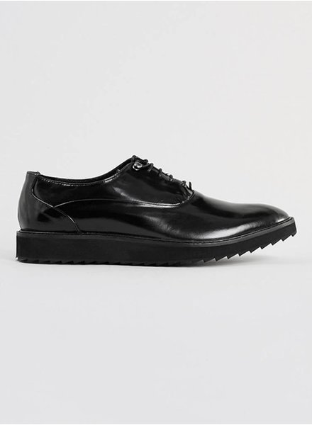 Leather oxford
