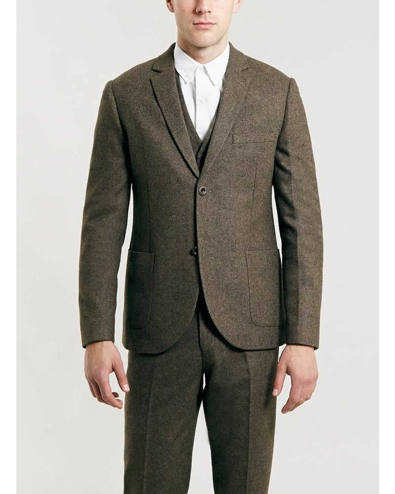 Brown heritage blazer