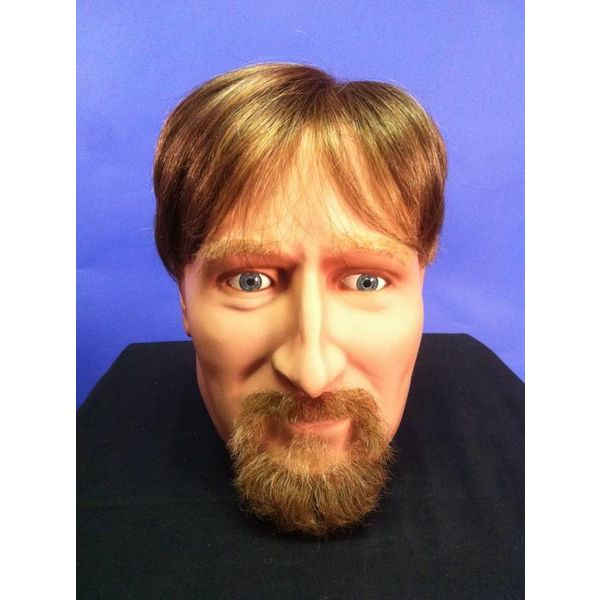Ringbaardje (snor en korte baard)