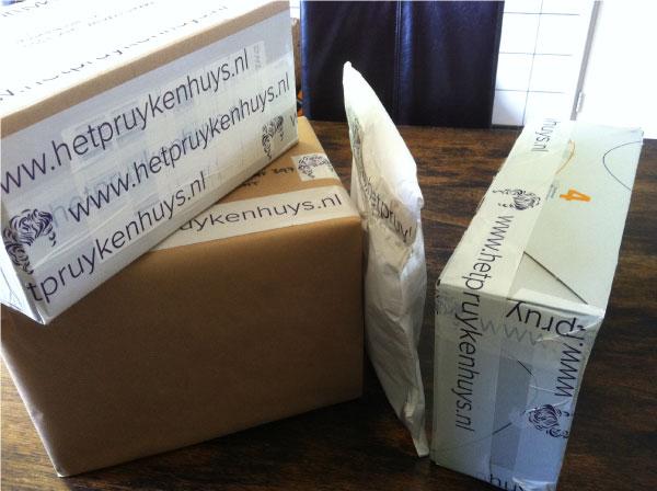 Pakketjes Atelier Het Pruykenhuys