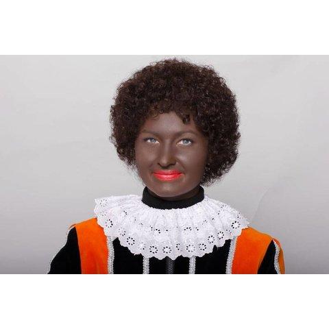 Pieten pruik Afro