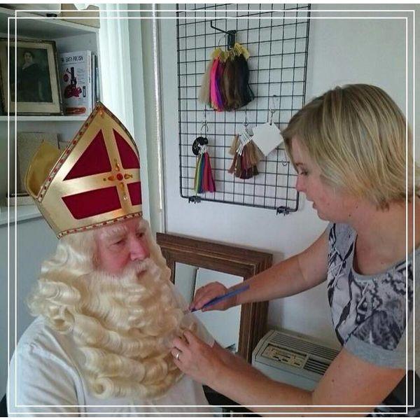 Sinterklaasbaardstel op maat