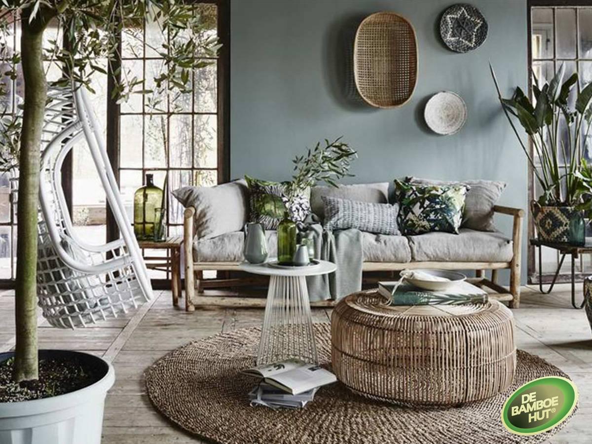 Bamboe vloeren als basis in uw woonkamer - De Bamboe Hut