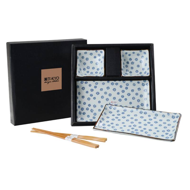tokyo design studio sushi servies set 6 delig 2 persoons cookdine. Black Bedroom Furniture Sets. Home Design Ideas