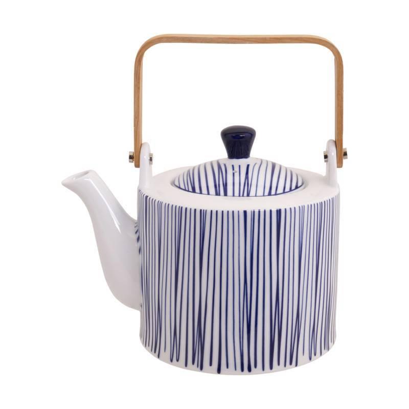 Design Teekanne design studio nippon blue teekanne 1 3 liter mit holzgriff