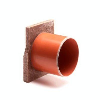 eindstuk voor vloergoot type ECO, inc uitloop 8 x 12cm