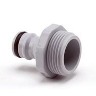 Siroflex insteeknippel met buitendraad