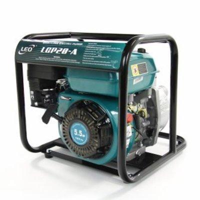 Leo zelfaanzuigende benzine motorpomp, type LGP30A, schoon water