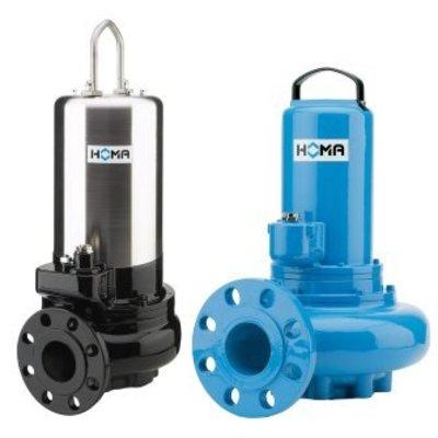 Homa® dompelpomp voor afvalwater en fecaliën, V 1346-D44, gietijzer, 400 V