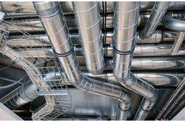 Spiraliet mechanische ventilatie buizen