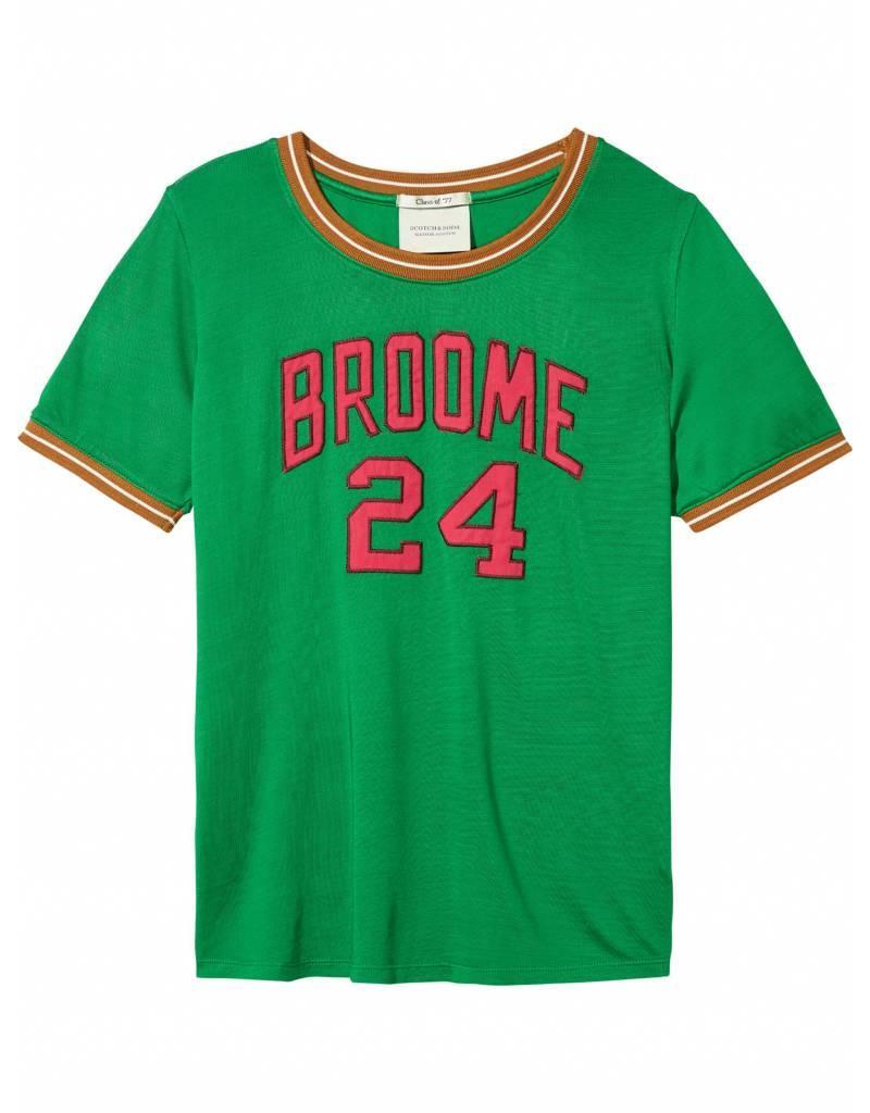 maison scotch green shirt online shop vandortmode. Black Bedroom Furniture Sets. Home Design Ideas