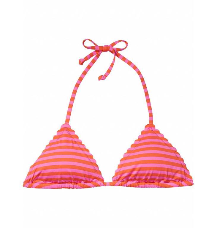 Maison Scotch Pink Pinnk Stripe Bikini Set 137509/137503
