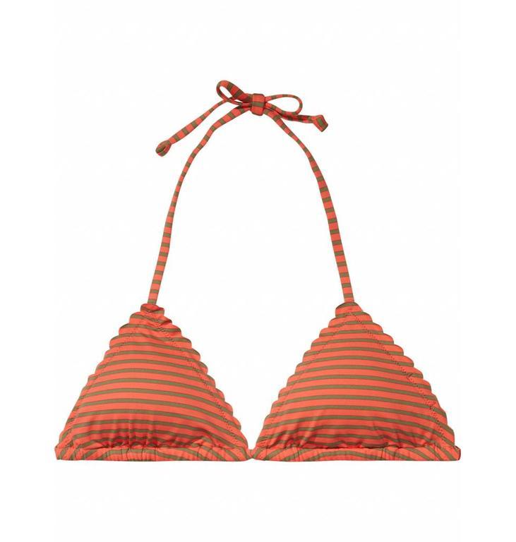 Maison Scotch Orange Red Stripe Bikini Set 137509/137503