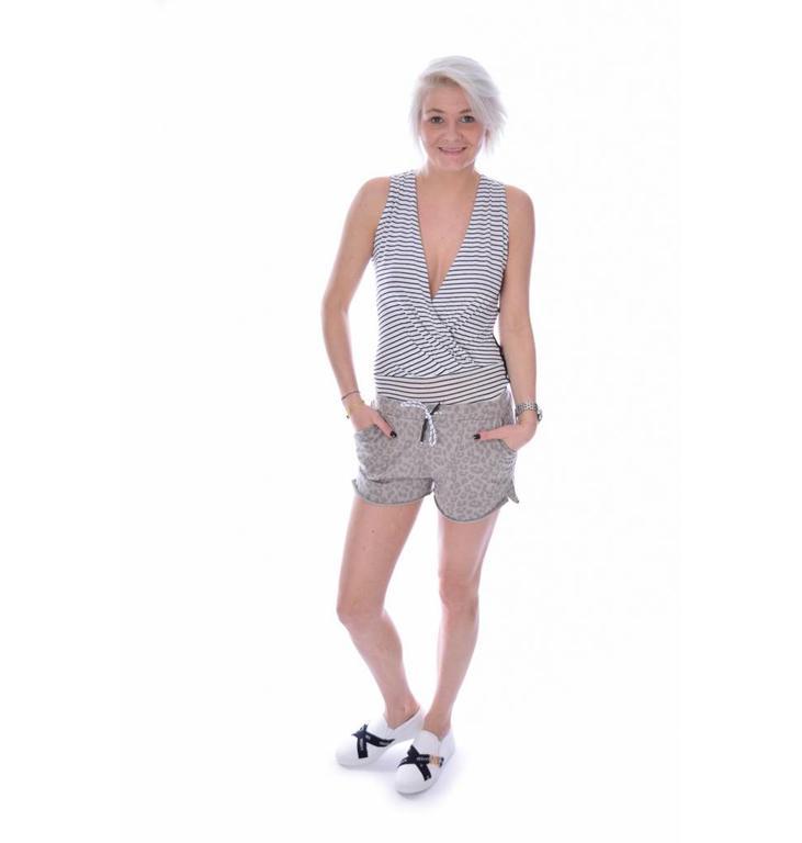 10Days Black/White Body Mini Stripe 20.993.7102