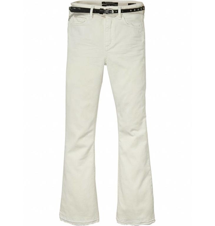 Maison Scotch Soft White Pants 136977