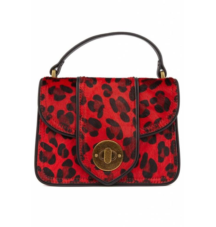 Essentiel Antwerp Red Small Shoulderbag Opony