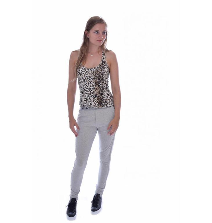 10Days Light Grey Melee Basic Pants 20.007.7103