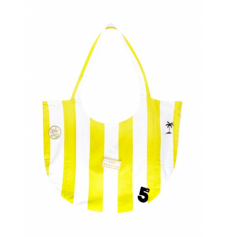 10Days Shopper Yellow/White Stripe 20.971.7101