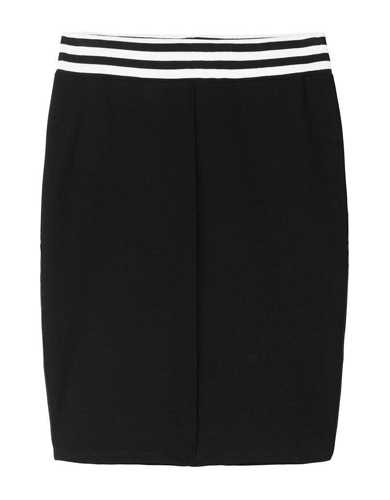 10Days Black Skirt 20.100.8101