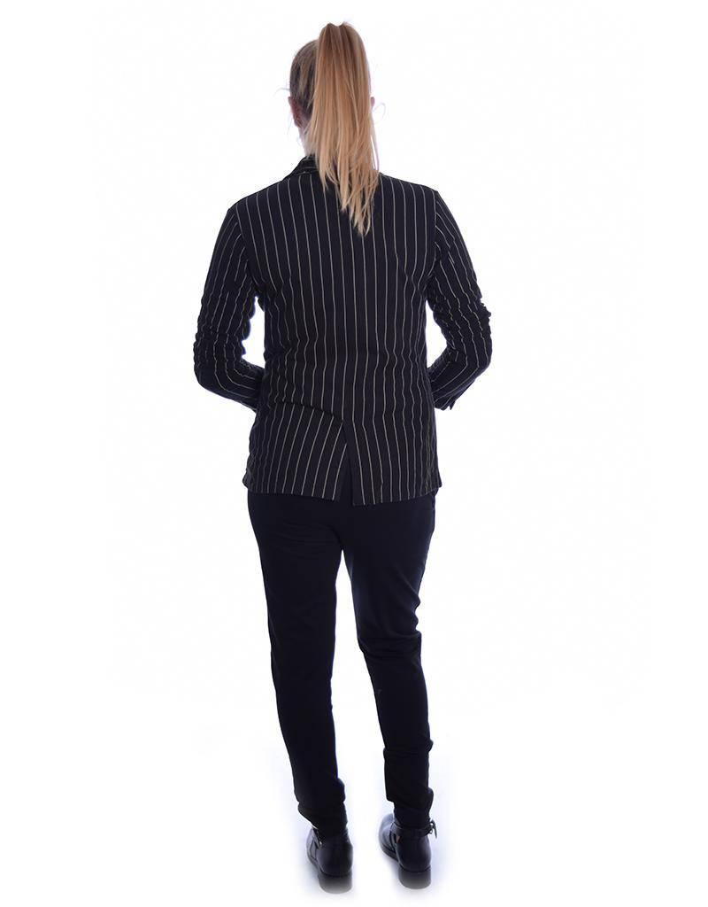 10Days Black Blazer Pinstripe 20.502.8101