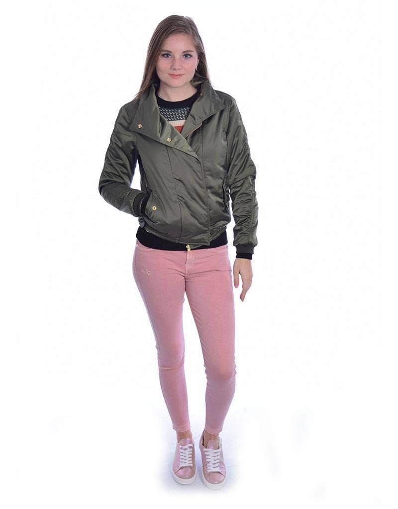 Amsterdam Blauw Kaki Special Bomber Jacket 141376