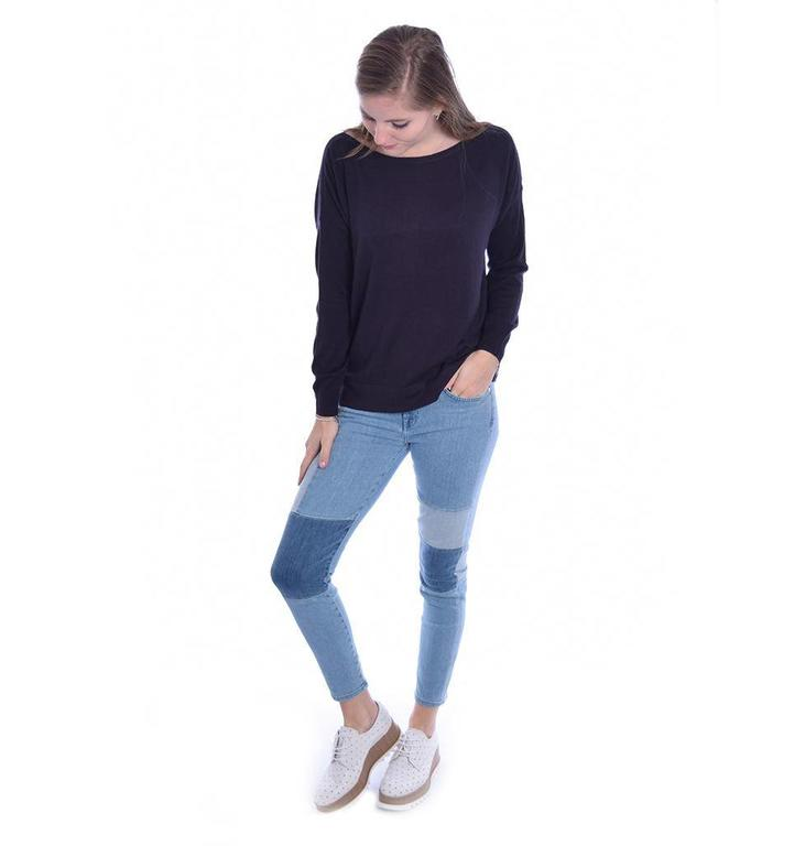 French Connection Navy Summer Silk Knit 78JBC