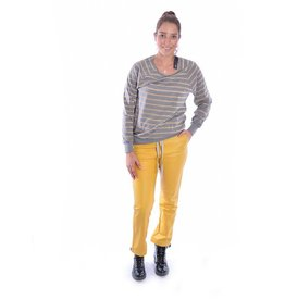 10Days Grey Melee Gold Thin Sweater 20.774.8101