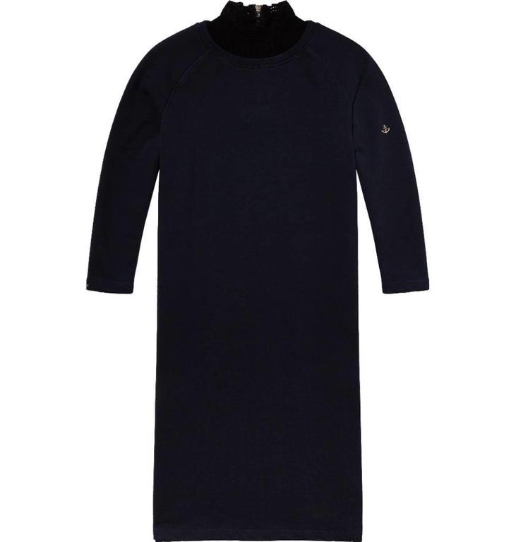 Amsterdam Blauw Navy Sweat Dress 141493