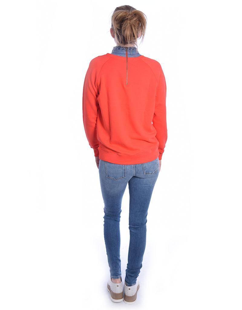 Amsterdam Blauw Red Super Soft Sweat 141421