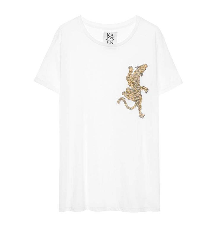 Zoe Karssen White Shirt PS18 1001