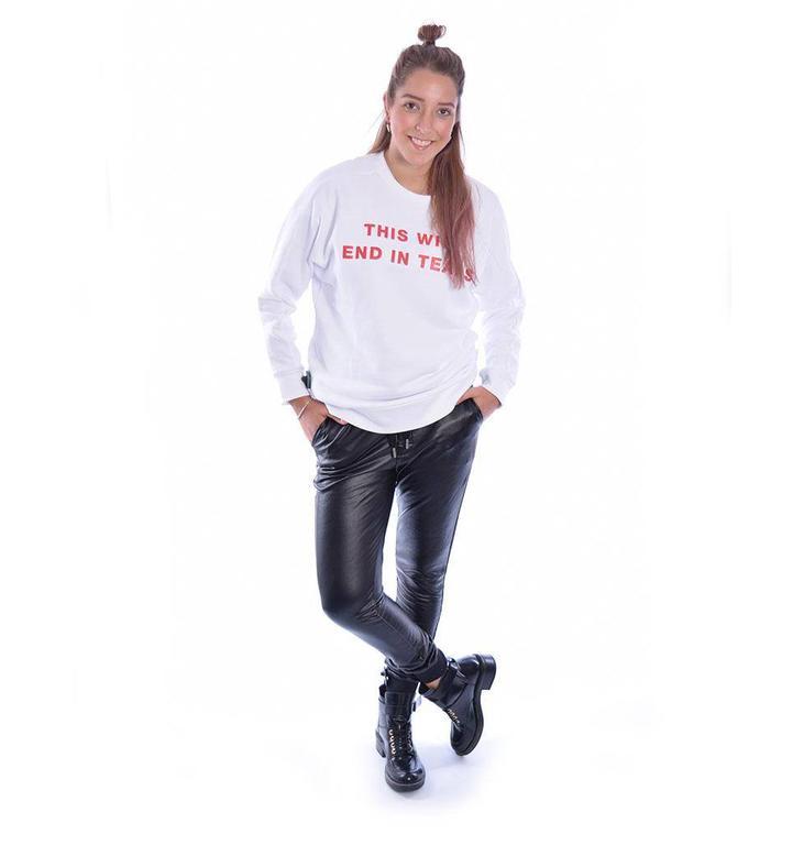 Zoe Karssen Black Jogger PS18 1174