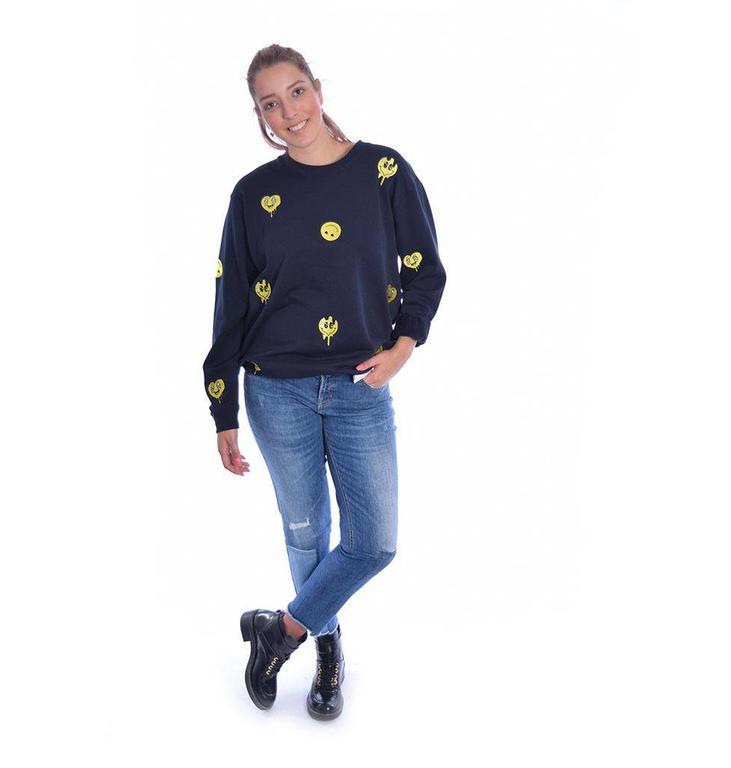 Zoe Karssen Navy Sweater PS18 1154