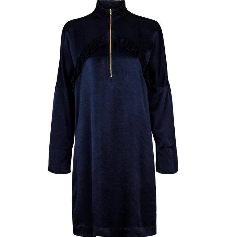 Second Female Navy Hai Dress 51211